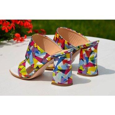 Saboti dama colorati Loca