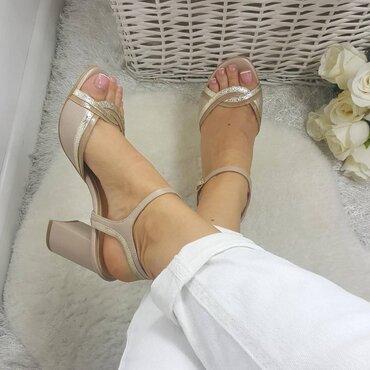 Sandale dama bej Frida