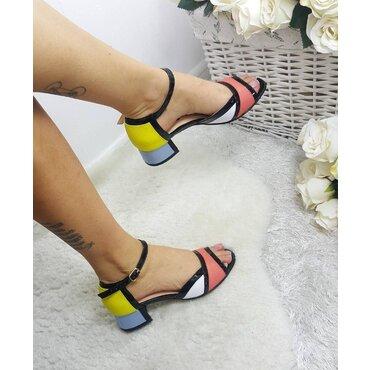 Sandale de dama pielecolor Abby