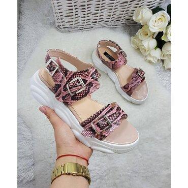 Sandale de dama roz Debra