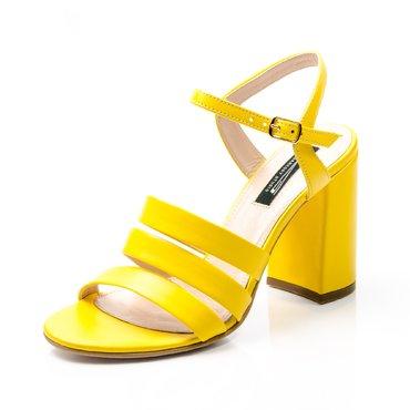 Sandale piele galbena Ciao