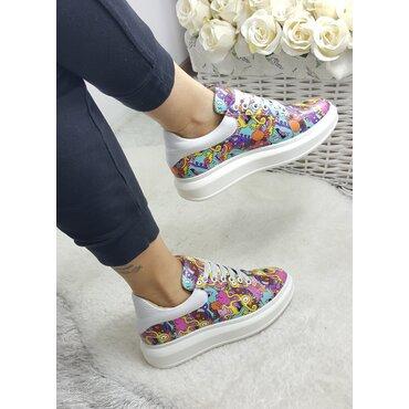 Sneakers din piele naturala Koli