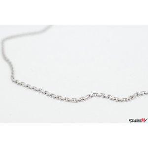 Lant supliment Cable Argint 925 rodiat (50-55-60 cm)