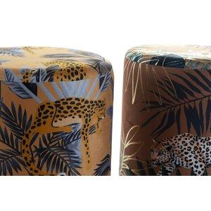 Adamato Taburet, Textil, Galben