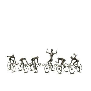 Adrian Decoratiune ciclist mica, Fier, Negru