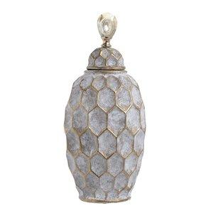 Amon Vas decorativ mare, Ceramic, Gri