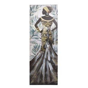 Ashley Tablou femeie, Canvas, Multicolor