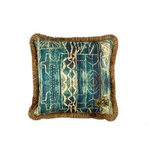 Bamileke Perna decorativa, In, Albastru