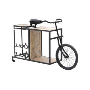 Bicy Bar bicicleta, Fier, Negru