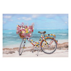 Bicycle Tablou, Canvas, Multicolor
