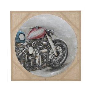 Bike Tablou, Canvas, Multicolor