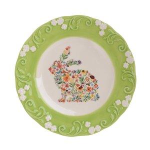 Bunit Farfurie iepure, Ceramica,Multicolor