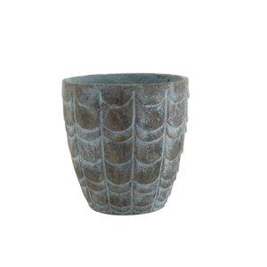 Callen Ghiveci mare, Ceramica, Gri