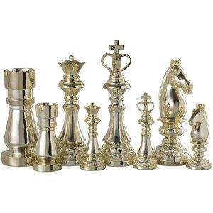 Carol Set 4 Chess, Polirasina, Auriu