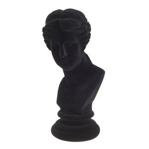 Cate Statueta Femeie, Polirasina, Negru