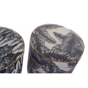 Clovero Taburet, Textil, Gri