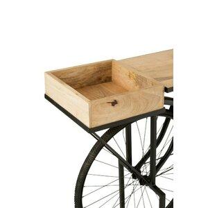 Colin Consola bicicleta, Lemn, Negru