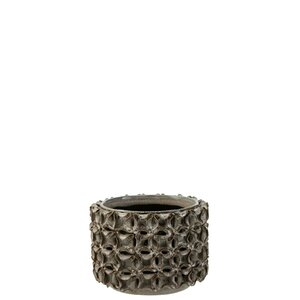 Coralis Ghiveci, Ceramica, Gri