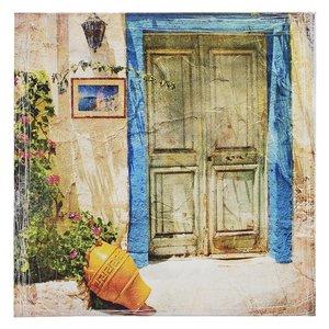 Door Tablou, Canvas, Multicolor