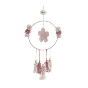 Dreamcatcher Decoratiune suspendabila, Textil, Alb