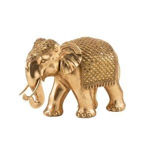 Elephant Mirage Decoratiune, Polirasina, Auriu