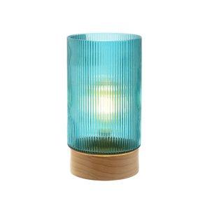 Geni Lampa LED, Sticla, Turcoaz