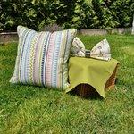Geomax Perna decorativa, Bumbac, Multicolor