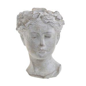 Greek Ghiveci femeie, Ciment, Gri