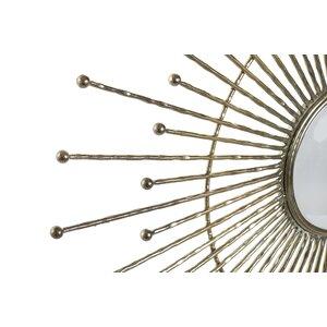 Iscra Decoratiune perete oglinda, Sticla, Auriu