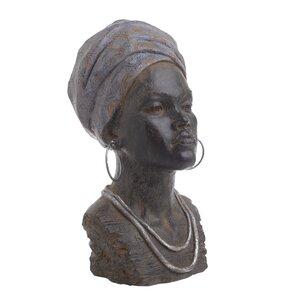 Jamira Statueta femeie, Polirasina, Negru