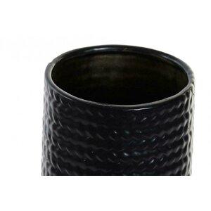 Jasmin Vaza, Ceramica, Negru