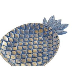 Jules Platou decorativ ananas, MDF, Verde