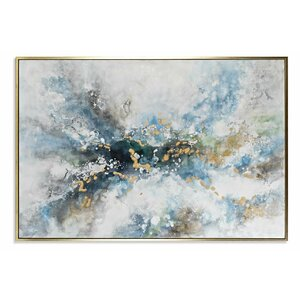 Junaid Tablou, Canvas, Albastru