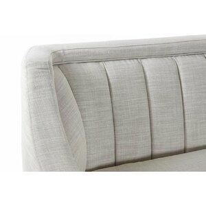 Kayla Canapea 3 locuri, Textil, Gri