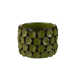 Malou Ghiveci mic, Ceramica, Verde