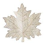 Maple Set 6 Suport Farfurii, PVC, Auriu