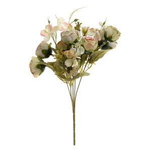 Marta Buchet flori artificiale, Plastic, Alb