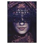 Mask Tablou, Canvas, Multicolor