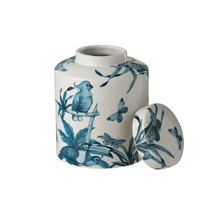 Mere Recipient pasari, Ceramica, Alb