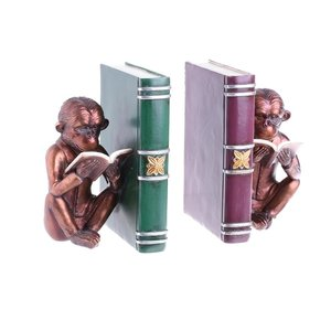 Monk Set suport opritor carti maimuta, Polirasina, Maro