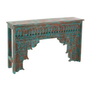 Morocco Consola, Lemn, Albastru