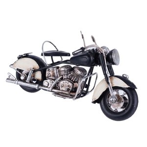 Motorbike Decoratiune, Metal, Negru