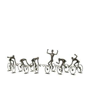 Pete Decoratiune ciclist mica, Fier, Negru