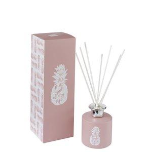 Pink Difuzor uleiuri esentiale 150 ml, Sticla, Roz