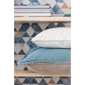 Pipon Perna decorativa, Textil, Alb