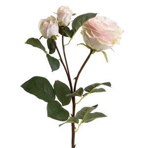 Roses Floare artificiala,Trandafir, Plastic, Alb