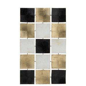 Squares Decoratiune perete, Metal , Multicolor