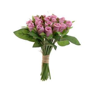 Suzi Buchet flori artificiale, Plastic, Roz