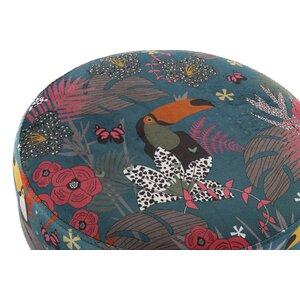 Tocan Taburet, Textil, Multicolor