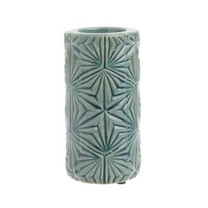 Tree Suport lumanare mic, Ceramica, Verde